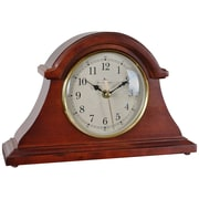 """FirsTime® 12"""" by 7.5"""" Napoleon Tabletop Wall Clock"""