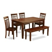 Wooden Importers Dudley 6 Piece Dining Set; Non-Upholstered Wood