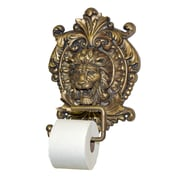 Hickory Manor House Wall Mounted Lion Medallion Plaque Wall Mounted Toilet Paper Holder