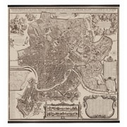 Authentic Models Rome Map - 1676, 84.75'' x 78.75''