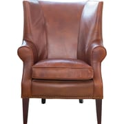 Elements Fine Home Furnishings Brayden Leather Wingback Chair