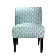 MJLFurniture Samantha Parsons Chair; Blue