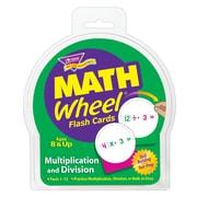 Trend Enterprises® Math Wheel® Flash Cards, Multiplication and Division
