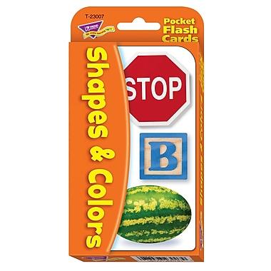 Trend Enterprises® Colors and Shapes Pocket Flash Cards, Grades pre-kindergarten - 2nd