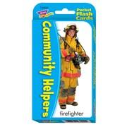 TREND Enterprises T-23022 Community Helpers Pocket Flash Cards, Grade 3 - 6
