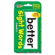 Trend Enterprises® Pocket Flash Cards, Level C, Grades 1st - 3rd