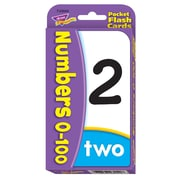 Trend Enterprises® Pocket Flash Cards, Numbers 0 - 100