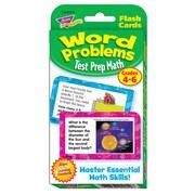 Trend Enterprises® TChallenge Card, Word Problems Test Prep Math