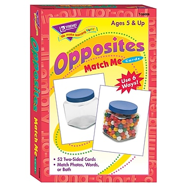 Trend Enterprises® Opposites Match Me Card
