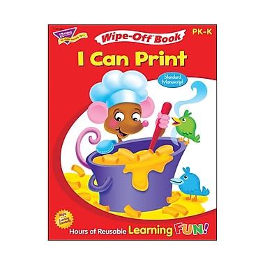 Trend Enterprises® Zaner -Bloser I Can Print Wipe-Off Book