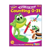 Trend Enterprises® Counting 0-31 Wipe-Off Book