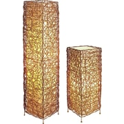 Major-Q Vine Style Table and Floor Lamp Set