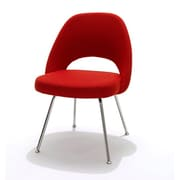 C2A Designs Eero Executive Side Metal Chair; Red