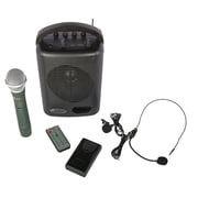 Amplivox® 50 W Power Pod PA System, Black (SWB245)