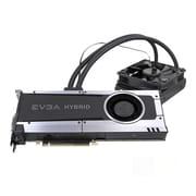 EVGA® NVIDIA GeForce® GTX™ 1070 Hybrid GDDR5 PCI-E 3.0 16x Gaming Graphic Card, 8GB, Black (08G-P4-6178-KR)