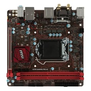 msi® Socket LGA-1151 Mini ITX Desktop Motherboard, 32GB DDR4 (B250I GAMING PRO AC)