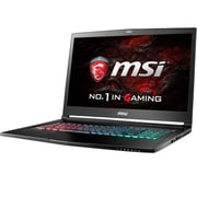 "msi® GS73VR Stealth Pro-225 17.3"" Notebook, LCD, Core i7-7700HQ, 2TB HDD/256GB SSD, 16GB RAM, WIN 10 Home, Black"