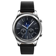 Samsung Gear S3 Classic Leather Smartwatch, Silver (SM-R770NZSAXAR)
