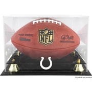Mounted Memories NFL Classic Football Logo Display Case; Indianapolis Colts