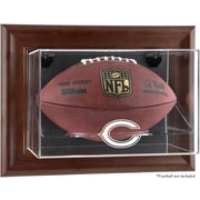 Mounted Memories NFL Wall Mounted Logo Football Case; Chicago Bears