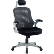 Hokku Designs Tarbo Mesh Desk Chair; Black