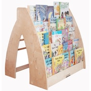 A+ Child Supply Traditional Book Display w/ Casters