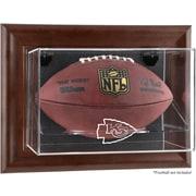 Mounted Memories NFL Wall Mounted Logo Football Case; Kansas City Chiefs