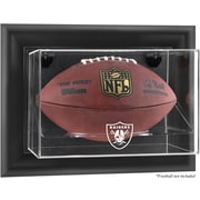 Mounted Memories NFL Wall Mounted Football Logo Display Case; Oakland Raiders
