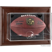 Mounted Memories NFL Wall Mounted Logo Football Case; Cleveland Browns