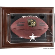Mounted Memories NFL Wall Mounted Logo Football Case; Dallas Cowboys