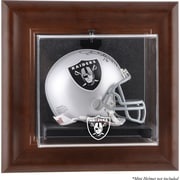 Mounted Memories NFL Wall Mounted Logo Mini Helmet Case; Oakland Raiders