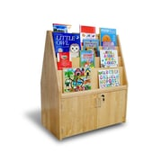 A+ Child Supply Double Sided Book Display w/ Doors