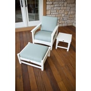 POLYWOOD  Club 3 Piece Deep Seating Chair Set