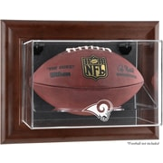 Mounted Memories NFL Wall Mounted Logo Football Case; St. Louis Rams