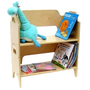 A+ Child Supply Two Tier 32'' Bookcase
