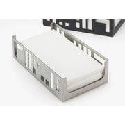 Cal-Mil Squared Napkin Holder; Stainless Steel