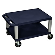 Offex Tuffy Multi-Purpose Utility Cart; Navy Blue