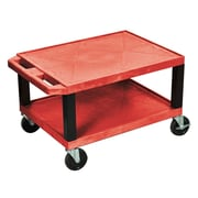 Offex Tuffy Multi-Purpose Utility Cart; Red