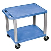 Offex Tuffy Multipurpose Utility Cart; Blue