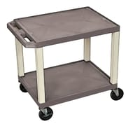 Offex Tuffy Multipurpose Utility Cart; Gray