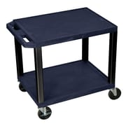 Offex Tuffy Multipurpose Utility Cart; Navy Blue