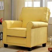 Hokku Designs Harrow Arm Chair; Yellow