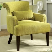 Hokku Designs Marlow Arm Chair; Green