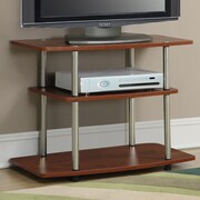 Home Loft Concepts Calvin TV Stand; Cherry