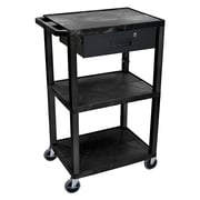 Offex Tuffy Multipurpose Utility Cart; Black