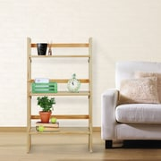 Casual Home Folding 37'' Etagere Bookcase