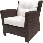ElanaMar Designs Sonoma Chair w/ Sunbrella Cushions; Sunbrella Natural