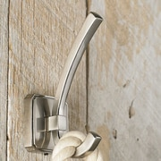 Richelieu Transitional Metal Wall Hook; Brushed Nickel
