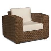 ElanaMar Designs Monaco Chair w/ Cushion; Antique Beige
