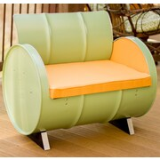 Drum Works Furniture Jadeite Chair w/ Cushions
